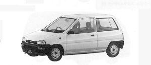 Subaru REX 3DOOR F 1991 г.