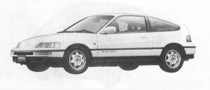 Honda CR-X 1.5X 1991 г.