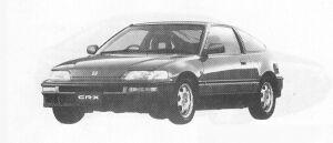 Honda CR-X SI 1991 г.