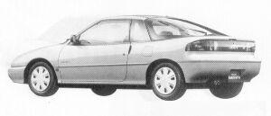 Isuzu Gemini COUPE 1600DOHC OZ-G 1991 г.