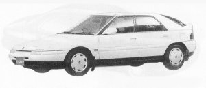 Mazda Eunos 100 1800 DOHC TYPE-B 1991 г.