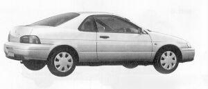 Toyota Cynos a 1991 г.