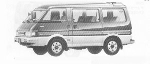 Mazda Bongo WAGON 4WD 2000 DIESEL TURBO LIMITED 1991 г.