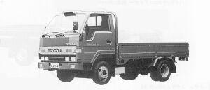 Toyota Toyoace FULL J/L LONG DECK 1.5T DIESEL 1991 г.