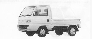 Honda Acty Truck 4WD TOWN 1991 г.