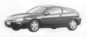 Mazda Eunos PRESSO FI-X 1991 г.