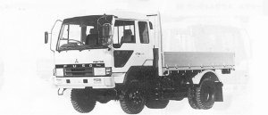Mitsubishi Fighter 4WD 3.75T 1991 г.