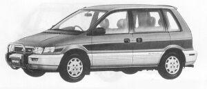 Mitsubishi RVR FULL TIME 4WD Z 1991 г.