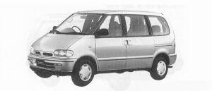 Nissan Vanette SERENA 2WD SX DIESEL TURBO 2000 1991 г.