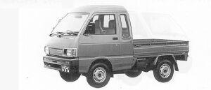 Daihatsu Hijet CUSTOM 1991 г.