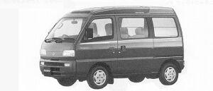 Suzuki Every INTERCOOLER TURBO RZ SUPER MULTI ROOF 1991 г.