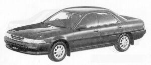 Toyota Corona Exiv 2.0TR-G DUAL MODE 4WS 1991 г.
