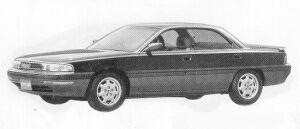 Mazda Eunos 300 2000 DOHC TYPE-B 1991 г.