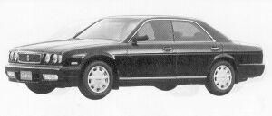 Nissan Cedric V30 TWIN CAM GRAN TOURISMO SV 1991 г.