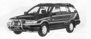 Toyota Sprinter Carib FIELD HUNTER 1991 г.