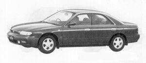 Nissan Bluebird 4DOOR HARD TOP 2000ARX-G 1991 г.