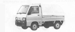 Subaru Sambar Truck STANDARD ROOF SDX (2WD) 1991 г.