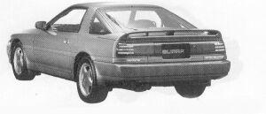 Toyota Supra 2.0GT TWIN TURBO WIND BODY 1991 г.
