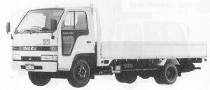 Isuzu Elf 2T FLAT LOW, LONG BODY AT 1991 г.