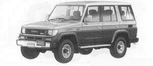 Toyota Land Cruiser Prado 4DOOR  EX WIDE 1991 г.