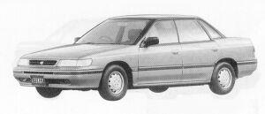 Subaru Legacy 4DOOR SEDAN 1.8L MI 1991 г.