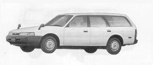 Mazda Capella CARGO 2000 DIESEL DX 1991 г.