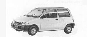 Daihatsu Mira A 1991 г.