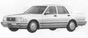 Nissan Cedric 4DOOR SEDAN V30E BLOAM VIP 1991 г.