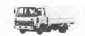 Nissan Diesel Condor HYPER 1991 г.