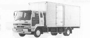 Isuzu Forward ALUMINUM VAN 210PS 3.25T 1991 г.