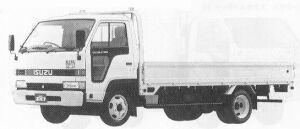 Isuzu Elf WIDE CAB 2T FULL FLAT LONG BODY 1991 г.