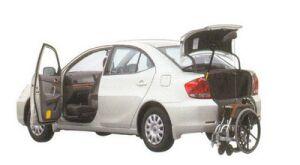 Toyota Allion Welcab, Passenger Swivel Slide Seat Car, B type 2005 г.