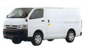 Toyota Regiusace Low Temperature Refrigeration Van 2005 г.