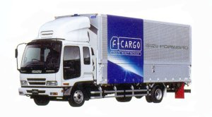 Isuzu Forward F-Cargo Smoother-F 140kW (190PS)  Intercooler Turbo Wing Body 2005 г.