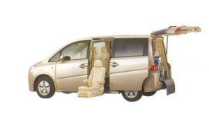 Honda Step Wagon G FF Side Lift-up Seat Version 2005 г.
