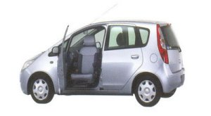 Mitsubishi Colt with Swivel Passenger Seat 2005 г.