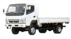 Mitsubishi Fuso CANTER Wide Hing Floor, 4WD, Long Body Truck 2005 г.