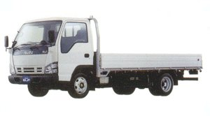 Isuzu Elf Smoother-E, Wide Cab, Flat Low, Long Body 2005 г.