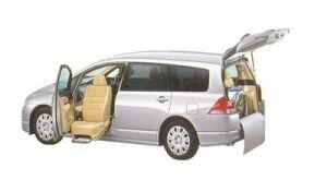 Honda Odyssey M FF Lift-up Passenger Seat Version 2005 г.