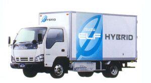 Isuzu Elf HYBRID Smoother-E Flat Low, Long Body Dry Van 2005 г.