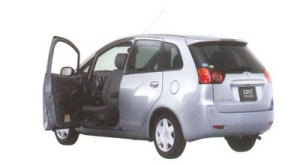 Mitsubishi Colt PLUS with Swivel Passenger Seat 2005 г.