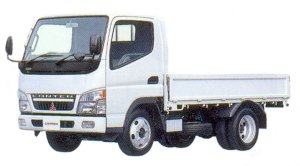 Mitsubishi Fuso CANTER All Low Floor, 4WD, Standard Body Truck 2005 г.