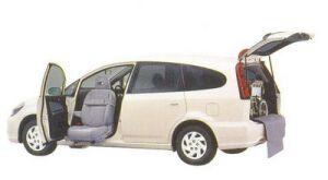 Honda Stream S (1.7L) FF Lift-up Passenger Seat Version 2005 г.