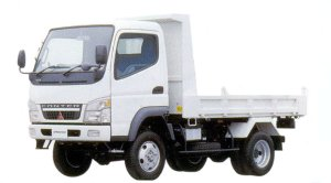 Mitsubishi Fuso CANTER High Floor 4WD Reinforced Dump 2005 г.