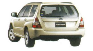 Subaru Forester 2.0 X 2005 г.