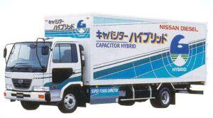Nissan Condor Capacitor Hybrid  Dry Van 2005 г.
