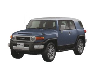 Toyota Fj Cruiser Color Package 2016 г.