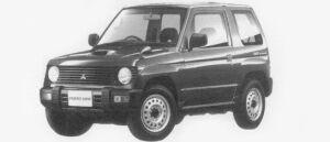 Mitsubishi Pajero Mini VR-I 4WD 1996 г.