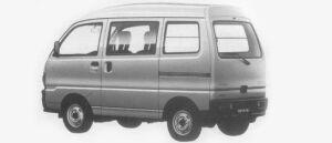 Mitsubishi Minicab VAN 4WD CL HIGH ROOF 1996 г.