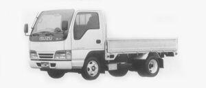 Isuzu Elf 2T FULL FLAT LOW, STANDARD BODY 1996 г.